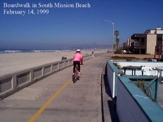 Discovery Bikes Pacific Beach The part through Mission Beach