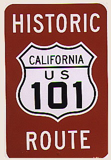 Bicycling on Old US 101 in San Diego County